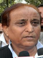 Azam Khan Talks to Media