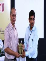 Vishwa Mohan Kumar Distributing Awards