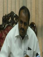 H. D. Kumaraswamy in Meeting
