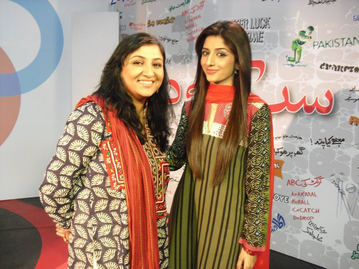 Nadia Afghan and-Mawra Hocane