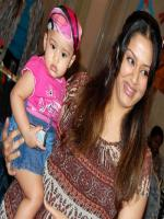 Jyothika with Kid