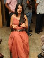 Lakshmi  Durring Shooting