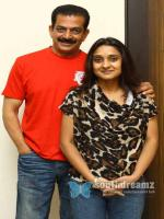 Malavika Avinash with Husband
