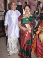 Manjula Vijayakumar With Husband