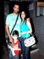 Mouni Roy Family Pic