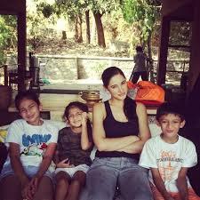 Nargis Fakhri Family Pic
