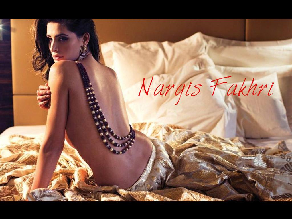 Nargis Fakhri Modeling Pic