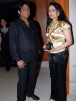 Padmini Kolhapure With her Husband