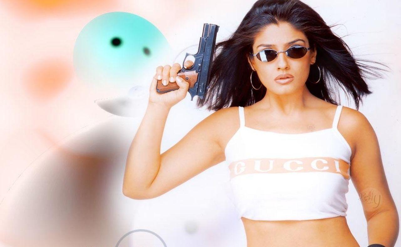 Raveena Tandon Modeling Pic