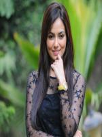 Sana Khan in Bombay to Goa