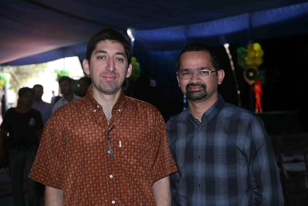 Adeel Hashmi with Shehzad