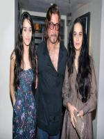 Shraddha Kapoor With Father