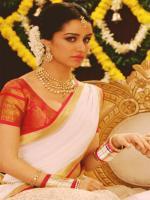 Shraddha Kapoor White Saree