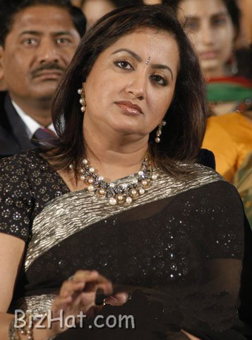 Sumalatha serious look
