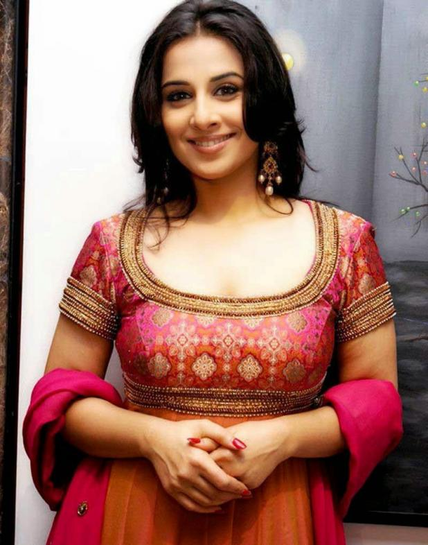 Vidya Balan in local dress