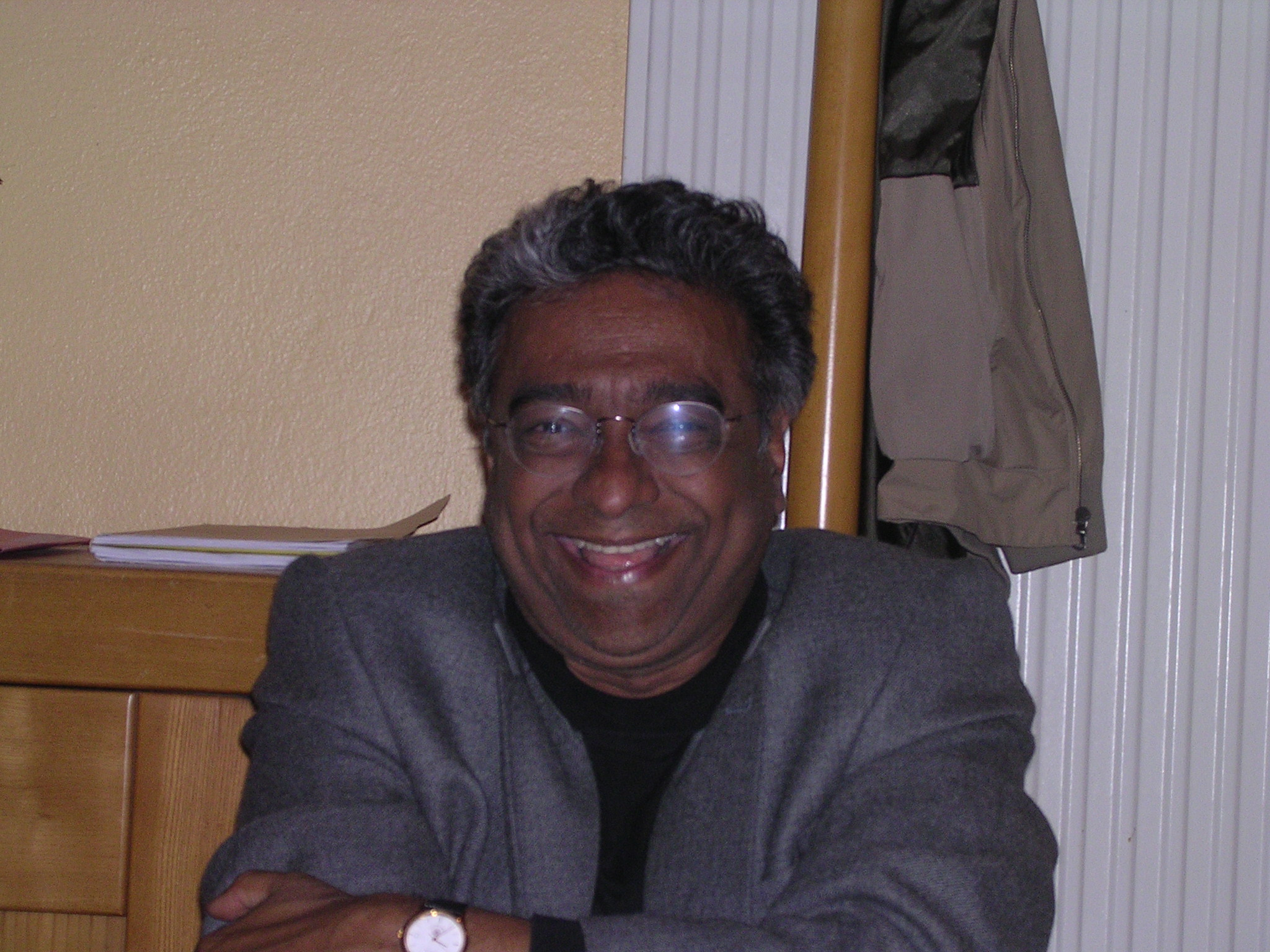 Abhay Ashtekar in Office