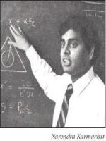 Narendra Karmarkar Durring Lecture