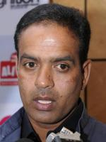 Sunil Joshi Talks to Media