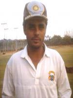 Reetinder Singh Sodhi Durring Practice