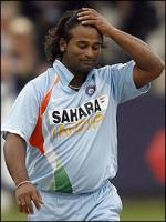 Ramesh Powar in Match