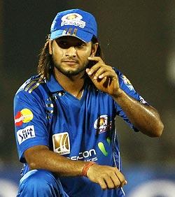 Saurabh Tiwary in Match