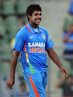 Varun Aaron in Match