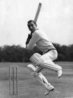 Iftikhar Ali Khan Pataudi Playing Short