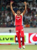 Jaydev Unadkat Celebrating