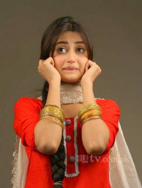Sajal Ali Pakistani Female Model
