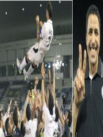 Al Crow Celebrating Victory