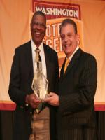Ken Houston Reciving Award