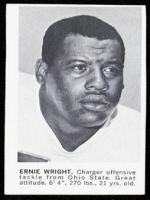 Ernie Wright Photo Shot