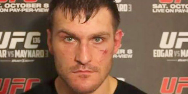 Stipe Miocic Photo Shot