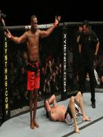 Jon Jones Defeating Opponent