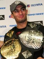 Gegard Mousasi With Tittles