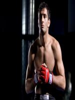 Gegard Mousasi in Practicing