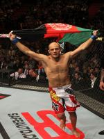 Siyar Bahadurzada with Flag