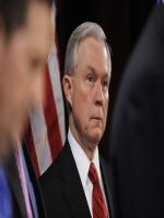Jeff Sessions at press Conference