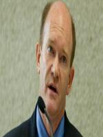 Chris Coons at White House