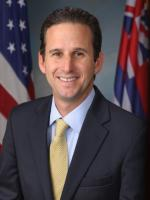 Brian Schatz at White House