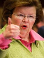 Barbara Mikulski at US Senate