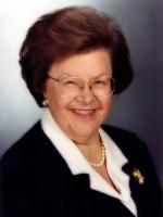 Barbara Mikulski at White House