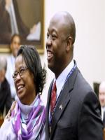 Tim Scott with his Wife