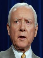 Orrin Hatch at White House