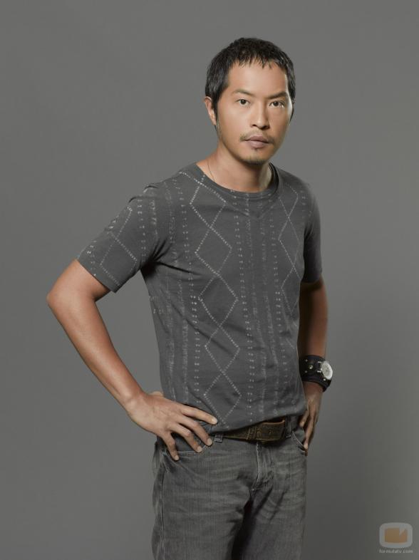 Ken Leung at Strip Search