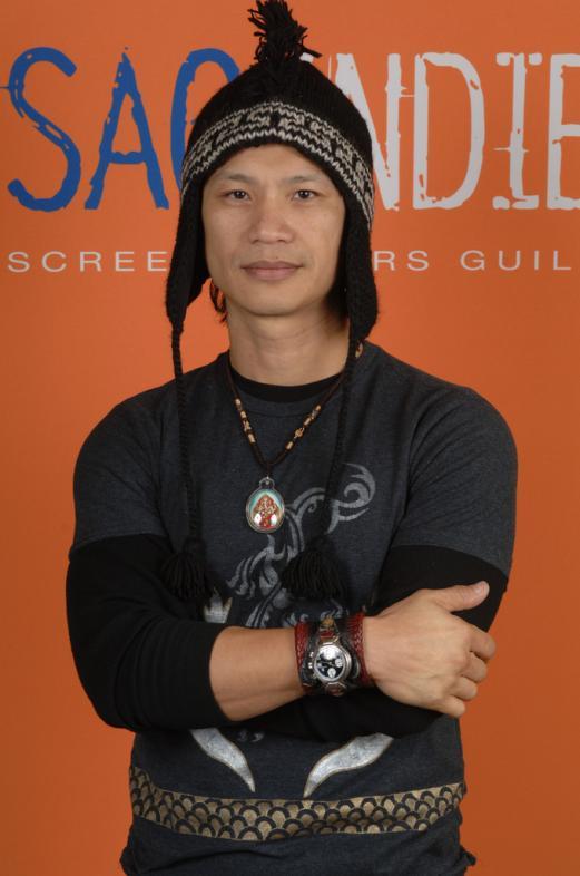 Dustin Nguyen at Virtuosity