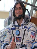 Sunita Williams During Space traveling