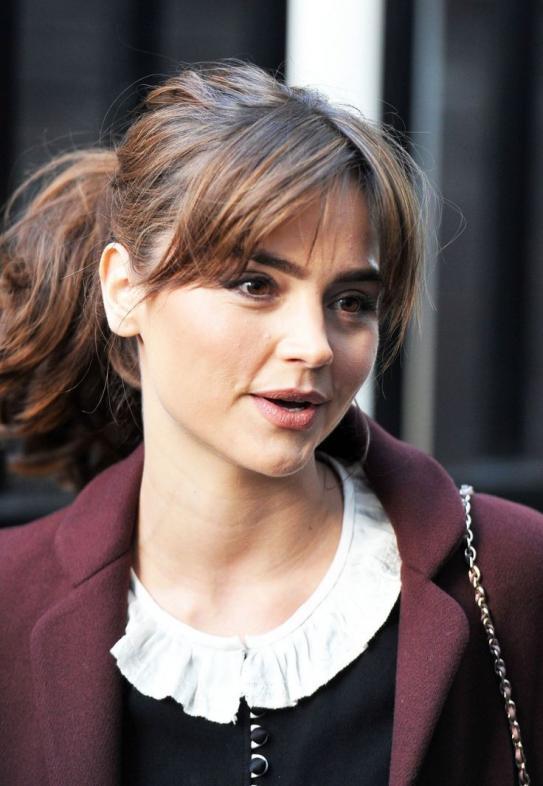 Jenna-Louise Coleman beautiful pic.