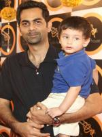 Adil Murad with his Son