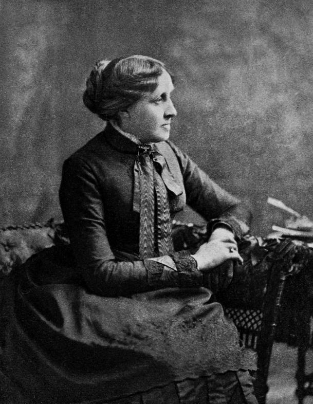 Louisa May Alcott by The Candy Country